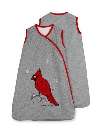northern cardinal 0-6 lightweight back