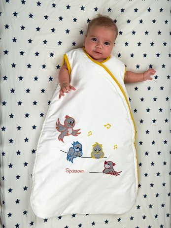 sparrows-sleeping bag-baby